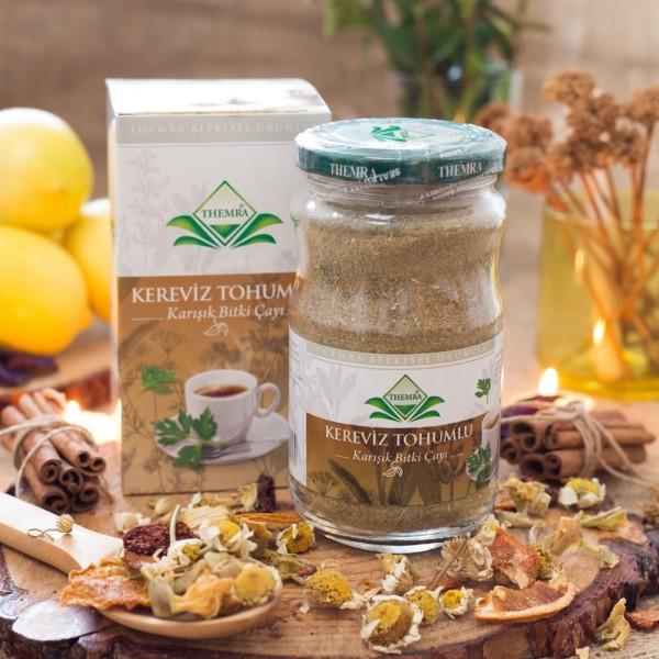 Чай от простатита с семенами сельдерея